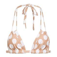 Montce – Polka Dot Euro Bikini Top – MONTCE SWIM //