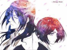 Bleach. Kuchiki Rukia & Byakuya