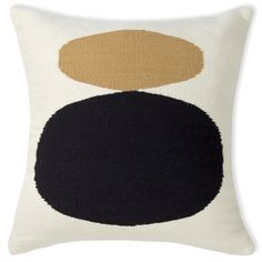 Graphic Pop.Add a punch of graphic color to your pillowscape with our hand-woven Reversible Camel Mother Child Pop Throw Pillow. Using simple mod icons and
