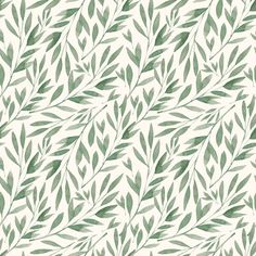 Green Bamboo Leaves  fabric by shopcabin on Spoonflower - custom fabric