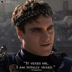 gladiator quotes commodus - Google Search