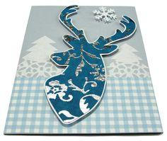 https://flic.kr/p/ioPzQt | Reindeer Card | * Handmade holidays card. …
