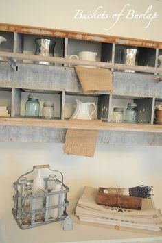 Galvanized And Metal Decor Farmhouse Friday 18