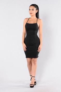 Blueberry Hill Dress - Black
