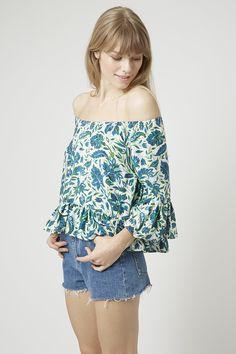 Photo 3 of Floral Bardot Top