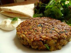 Mushroom and Chickpea Vegetarian Burgers