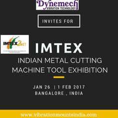 do join us IMTEX 2017 InvestMachinery - international metal cutting #machinetool expo