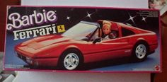 Barbie Ferrari Convertible Car Vehicle 1987 Mattel Hawthorne ** Continue to the product at the image link.