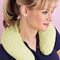 neck pillow diy neck pillow