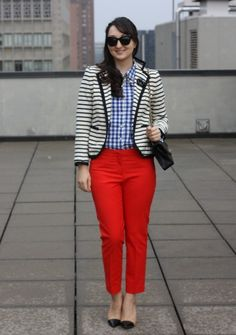 loving the coloured pants
