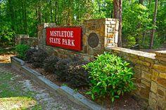 Mistletoe State Park, Appling, GA 30802. Enterance