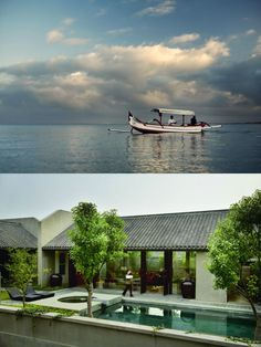 In the Kayumanis Private Villas there is now accommodation for even the most discerning guest in luxurios villas with exquisite interior. Spa Design, Design Hotel, Swimming Sport, Nanjing, Floor To Ceiling Windows, Private Pool, Hot Springs, Villas, Tub