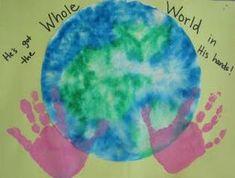Preschool Crafts for Kids*: Christian crafts arts-crafts-for-my-preschoolers Vbs Crafts, Daycare Crafts, Sunday School Crafts, Toddler Crafts, Camping Crafts, Easter Crafts, Earth Day Crafts, World Crafts, Catholic Schools Week