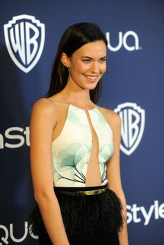 Odette Annable at the InStyle and Warner Bros. Golden Globes after party. [Photo by Tyler Boye]
