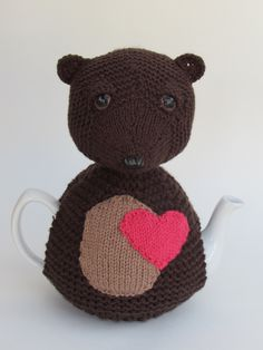 With Valentine's day just on the horizon, the Bear Heart Tea Cosy could make the perfect unusual gift. http://www.teacosyfolk.co.uk/show.php?id=175&n=Bear%20Heart%20Tea%20cosy