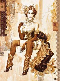 Art M. Illustration und Poster Olivier Ledroit How To Choose a Storage Shed Article Body: If you own Evvi Art, Bd Art, Steampunk Kunst, Steampunk Artwork, 3d Fantasy, Fantasy Girl, Lady Mechanika, Character Art, Character Design