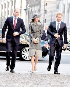 Both The Duke And Duchess Of Cambridge And Prince Harry Pictured Are Joining The Monarch And Her Husband Prince Philip For One Of The Highlights Of Her