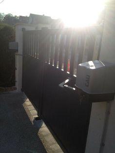 Automatisme de portail, portail en aluminium. www.lbsecurite.fr