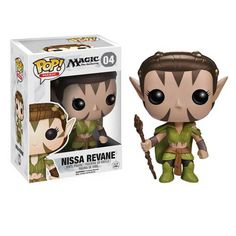 Nissa Revane is an elven warrior from the world of Magic the Gathering. And, she's awesome. Green magic, nature mage, and all around intelligent being, Nissa Revane gets the job done. Magic the Gather