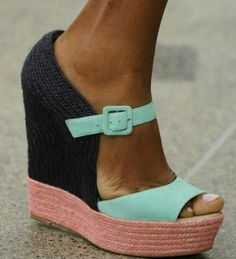 multi color wedges