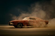 Photographer Brilliantly Recreates Dukes of Hazzard Scene Using Model Cars and Dust - UltraLinx