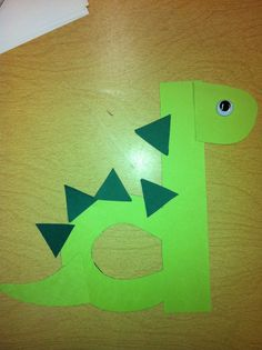 Lowercase D is for dinosaur