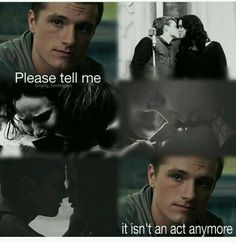 Everlak kisses and Peeta's theory !!! I just love that picture ♡♡♡
