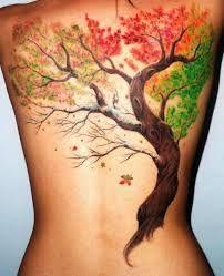 Risultati immagini per tatuaggi collo albero