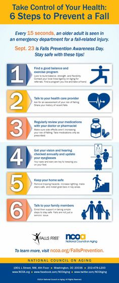Take Control of Your Health: 6 Steps to Prevent a Fall | New Visions Healthcare Blog