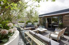 stephen woodhams design / stannary street rooftop garden, kennington