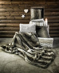 Primark Home Faux Fur Soft Furnishing Collection.