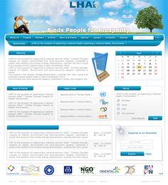 Oriental CIS ( LHAB Website Design )