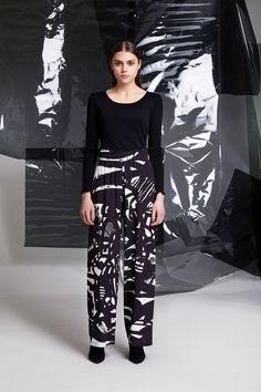 Photographer: Paavo Lehtonen MUAH: Piia Hiltunen Stylist: Shadi Razavi Model: Christina Shevelkova Red Moon, Light And Shadow, Ruffles, That Look, Trousers, Feminine, Classic, Shirts, Collection