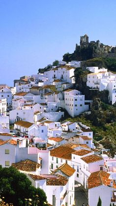 Casares-Malaga-Spain Travel in Spain and learn the real Spanish with the Eurolingua Institute