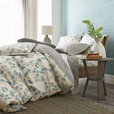 Organic Kimi Percale Reversible Duvet Cover & Sham — Maxwell's Daily Find 08.27.14