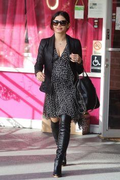 Pregnant Jenna Dewan-Tatum December 2012