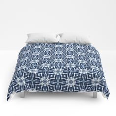 Buy Watercolor Shibori Indigo Comforters by mjmstudio. Worldwide shipping available at Society6.com. Just one of millions of high quality products available.