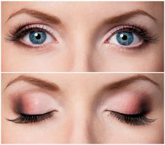 Smokey Eyes schminken neue Trends Sommer 2017