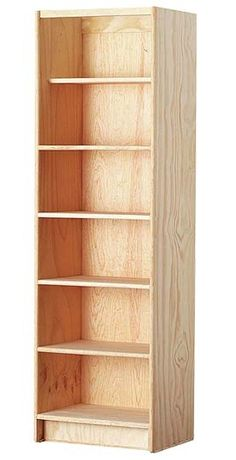 15 Ideas for closet esquinero de madera How To Make Bookshelves, Homemade Bookshelves, Bookcase Plans, Bookcase Shelves, Diy Storage Cabinets, Painted Closet, Home Furniture, Furniture Design, Bois Diy