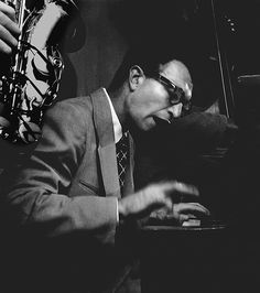 Dave Brubeck playing his first Los Angeles club date, 1951, via Flickr.