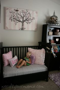 Word 2 Your Mama: Crib Repurposed