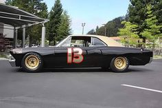 '67 Chevrolet Smokey Yunick NASCAR Chevelle. (via I Can't Live Without Cars)