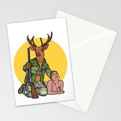 Deer Hunter Stationery Cards
