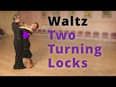 How to Dance Waltz - Two Turning Locks Dance Workout Videos, Dance Videos, Ballroom Dancing, Ballroom Dress, Waltz Dance, Dance Routines, Dance Moves, Locks, Skating