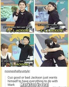 What kind of phobia does Mark have? JACKSON! XD