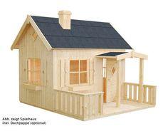 PALMAKO Spielhaus Otto 3,6 m² Das Spielhaus mit 16 mm starken Wänden wird inklusive einer kleinen Terrasse mit Brüstung geliefert. Sicherheit Palmako Spielhäuser bieten Ihnen bestmögliche Sicherheit für Ihr Kind. Schneller...