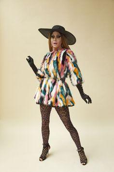 Come Through Queens! Meet the Contestants Slaying Season 9 of 'RuPaul's Drag Race' - PAPER Trinity Taylor, Leigh Bowery, Men Dress Up, Rupaul Drag, Full Look, Linda Evangelista, Hey Girl, Cool Girl, Drag Queens