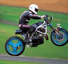 Steve Burns; Spondon turbo - crazier than a polecat in a chicken coup!!