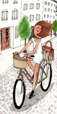 ride your bike and be fabulous.
