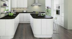[ Planar White Kitchen Units Amp Cabinets Magnet Kitchens ] - Best Free Home Design Idea & Inspiration Home Decor Kitchen, New Kitchen, Kitchen Dining, Kitchen Ideas, Kitchen Designs, Kitchen Layout, Kitchen Inspiration, Room Inspiration, Dining Room